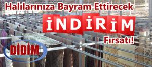 Didim Halı Yıkama Fabrikası Bayram Kampanyası