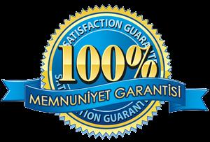 %100 Memnuniyet Garantisi